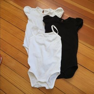 Other -  3 Little Miss Basics Onesies 24 Months